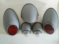 VW VOLKSWAGEN BUG BEETLE OVAL TAIL TURN DECK LIGHTS REPRODUCTION