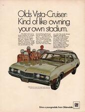 Print. 1968 Oldsmobile Vista-Cruiser Automobile Ad