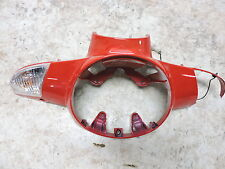 08 Aprilia Scarabeo 200 Scooter front headlight head light cover