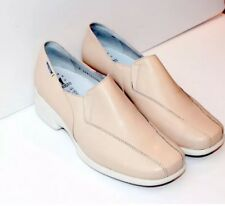 BNIB UK 6.5 / EU 40.5 Mephisto Burgina Lady's Slip-ons cream Leather RRP £189.00