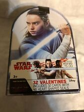 32 Star Wars Valentines Day Cards Brand New In Box! Sealed!