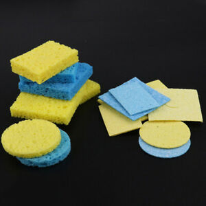 5pcs/lot Soldering Iron Solder Tip Welding Cleaning Sponge Pads G_H4