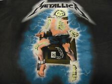 Rock Shirt Vintage Authentic Metallica Kill' Em All 1980s Electric Chair Xxl New