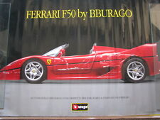 Poster Ferrari F50 by Bburago