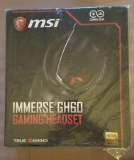 MSI Immerse GH60 GAMING Headset with Certified High-Res. Audio
