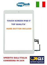 1touch Écran Apple IPAD 5° A1822 A1823 3g Wifi Verre + Bouton Home Blanc