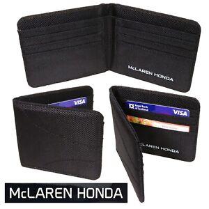 McLAREN HONDA Formula One 1 - Official Team Wallet - Card Case - F1 Merchandise