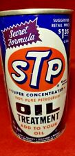 VINTAGE 15 OZ STP MOTOR OIL TREATMENT UNOPENED FULL GAS STATION SIGN PUMP MARINE