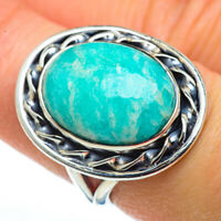 Amazonite 925 Sterling Silver Ring Size 7.25 Ana Co Jewelry R45603F