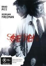 Seven (1995) Region 4 DVD Se7en Brad Pitt Morgan Freeman
