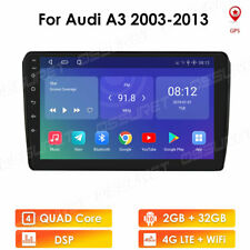 """For Audi A3 Android10 9"""" Car Radio GPS 2GB RAM 32G ROM QUAD-Core 4G LTE Player"""
