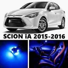 11pcs LED Blue Light Interior Package Kit for SCION iA 2016
