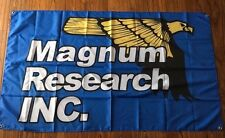 MAGNUM RESEARCH INC FLAG BANNER SIGN 3' X 5' desert eagle airsoft