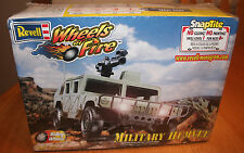 Revell Military Humvee Wheels of Fire Snaptite  Kit 85-1909 Factory Sealed 1:25