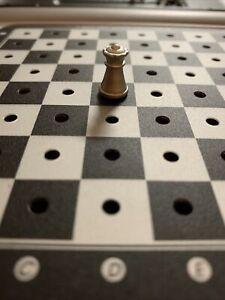 Saitek KASPAROV COSMOS Chess Replacement Silver/White Queen (1) Piece