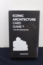 NEW Iconic Architecture Card Game (Cinqpoints)