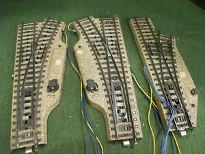 HO-MARKLIN 5203/5204 M-Track Electromagnetic Left and right Hand turnouts+ other