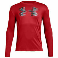 Boys 8-20 Under Armour Big Logo Long-Sleeve Tee - Pick Size/Color. New