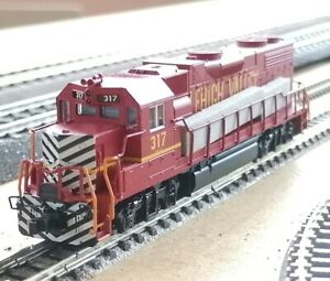 Atlas N' EMD GP38-2 Lehigh Valley #317 (New IN THE BOX FROM OLD INVENTORY)