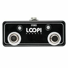 Dual Amp Channel Footswitch w/ LED - Latching Switch - Loopi Pedals