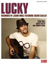 Lucky Sheet Music Piano Vocal Colbie Caillat Jason Mraz NEW 002501408