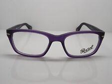 Authentic PERSOL 3012-V 990 Matte Purple RX Eyeglasses 52mm w/ Case