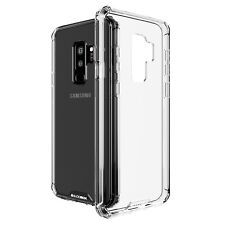 for Samsung Galaxy S9 Plus Case BUDDIBOX Scratch Resistant Clear Bumper Cover