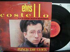 ELVIS COSTELLO Punch the Clock LP 1983 Columbia EX