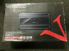 KENWOOD   EXCELON X450-4 4CHANNEL POWER AMP