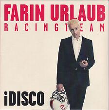 """7""""Vinyl / iDisco von Farin Urlaub (Die Ärzte) & Racing Team (2015) / NEU!!!"""