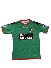 More details for stephen o'flynn  glentoran  match worn/issue shirt