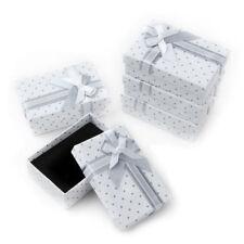 5PCS PAPER PENDANT RING NECKLACE EARRINGS BRACELET JEWELLERY XMAS GIFT BOX POUR
