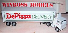 1986 De Pizza Winross Diecast Trailer Truck
