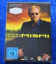 CSI Miami Season 9.2 Episoden 12-22 Limitierte Auflage, DVD Box Staffel 9 Teil 2