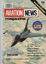 AVIATION NEWS MODEL MAGAZINE V20 N4 PARIS SHOW REPORT RAF FLIGHTS 1600 SERIES