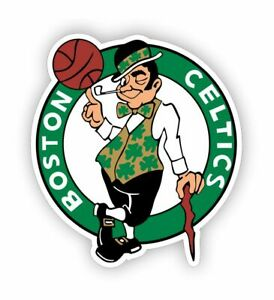 Sticker plastifié CELTICS de BOSTON - Basket NBA - 9cm x 8cm