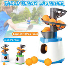 Table Tennis Launcher Pitching Serve Machine Trainer Racquet Mini Gifts Sports