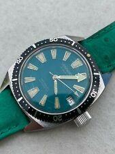 Vintage Diver Watch Automatic Bezel Very Rare Dial Verywatch 100 Metres Screw...