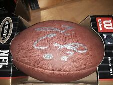 Tim Couch Autographed Wilson NFL Football
