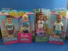 Barbie~3 Club Chelsea~1 Champing Fun~4 Boys~Tommy/Ryan/Darrin