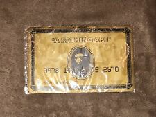 BAPE A BATHING APE GOLD CARD MOUSE PAD RATE NOVELTY Used In Bape Store