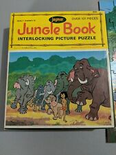 Jaymar Jungle Book Picture Puzzle Over 100 Pieces Complete