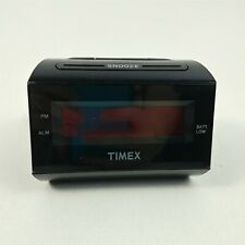 Timex Extra Loud Alarm Clock T126B Wake Up Travel Large Letters Hard Hearing Old