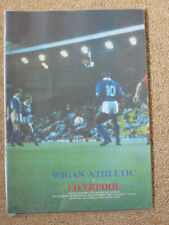 Wigan Athletic  v Liverpool  Littlewoods Cup 2nd Round 2nd Leg 4/10/89