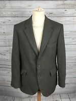Men's Dunn & Co Tweed Jacket/Blazer - 42R - Green - Wool - Great Condition