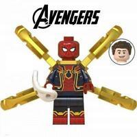 Iron Spider Marvel Avengers Minifigure Figure Custom Minifig 99