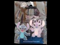 Disney Trading Pin Stitch and Angel 2 Pins Set