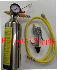 HVAC Pro Flush Kit **WITH GAUGE** Air Conditioning Systems R134a,410a,404,R22 -