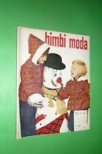 RARA RIVISTA DI MODA BIMBI n.23  INVERNO/HIVER 1956 FASHION VINTAGE KIDS BAMBINO