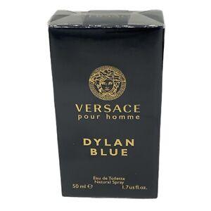 Versace, Dylan Blue Eau de Toile 1.7 Fl Oz. New With Box Sealed
